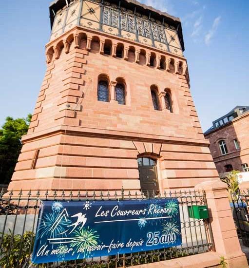 25 ans de l'entreprise Les Couvreurs Rhénans à Strasbourg