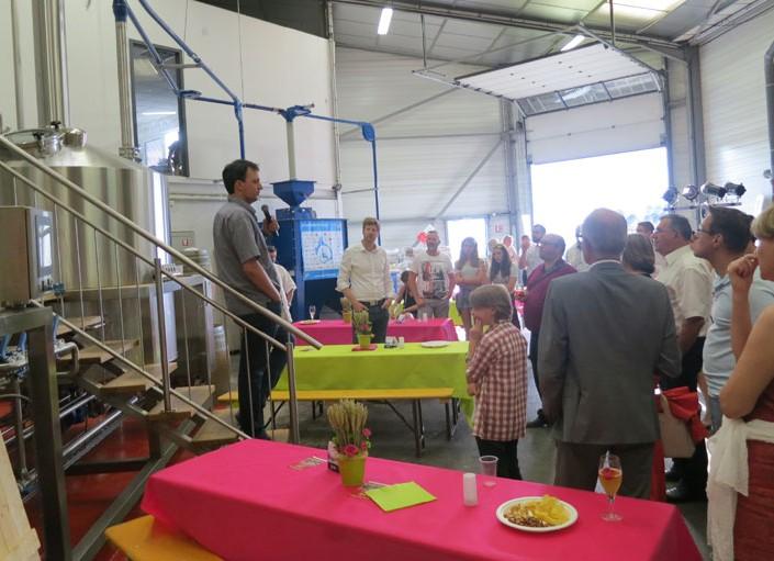 Soirée annuelle du GIP Est dans la Brasserie «La Perle» à Strasbourg