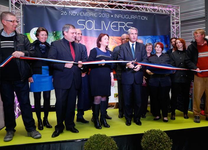 Inauguration du nouveau siège de SOLIVERS à Duppigheim