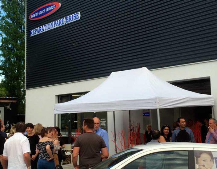 Inauguration du nouveau centre Bris de Glace Service à Illkirch-Graffenstaden