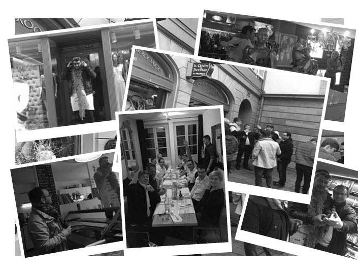 Rallye gastronomique à Strasbourg