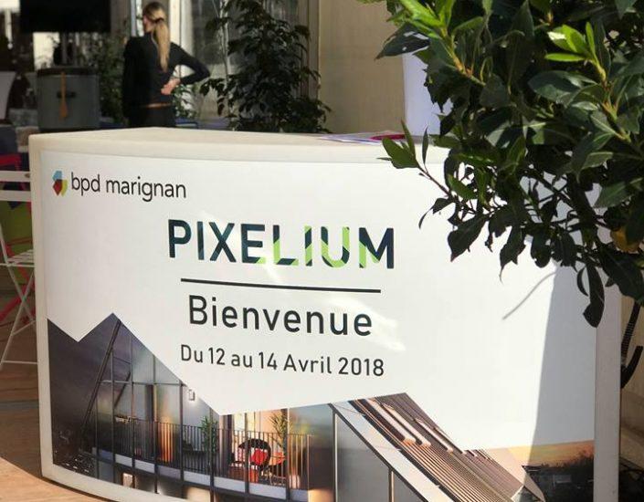 Lancement du nouveau programme immobilier « Pixelium » pour BPD Marignan