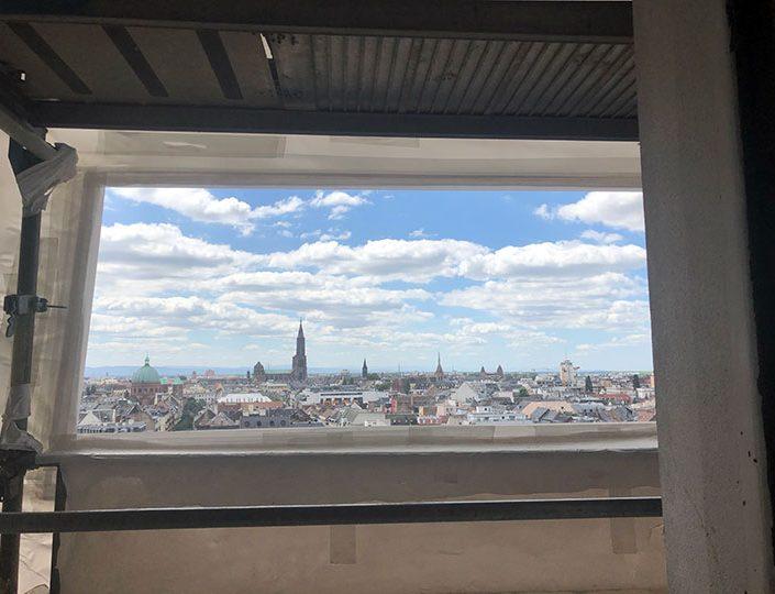 Cocktail dans la tour de la Maison du Bâtiment – La Canopée – Strasbourg