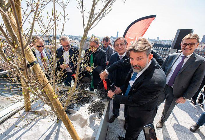 Inauguration Tour Plein Ciel à Strasbourg