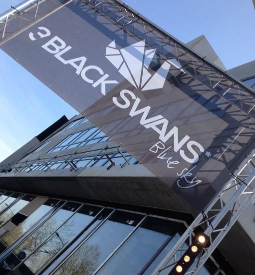 Soirée de lancement commercial pour l'opération immobilière 3 BLACK SWANS à Strasbourg – Icade Promotion