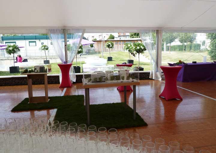 Inauguration du nouveau quartier Bruckhof à Strasbourg