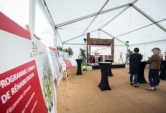 Lancement des travaux du chantier du Quartier Wihrel à Ostwald