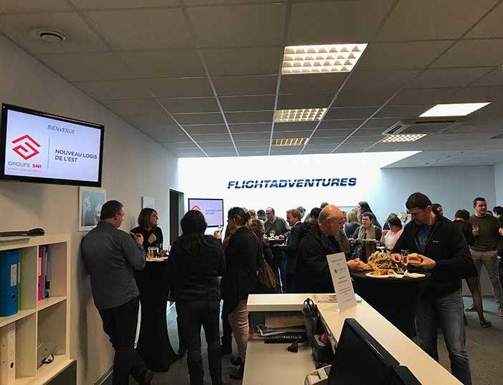 Séminaire & Activités Teambuilding – Aéroport de Strasbourg-Enthzeim