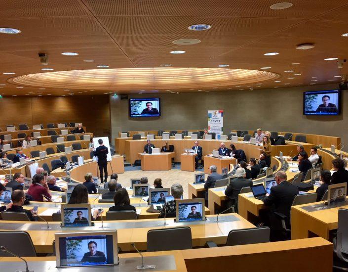 Rencontre annuelle ECVET à la Maison de la Région Est à Strasbourg