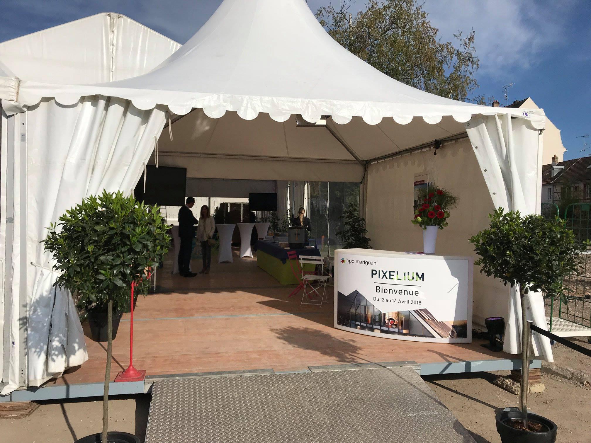 Lancement du nouveau programme immobilier «Pixelium» pour BPD Marignan