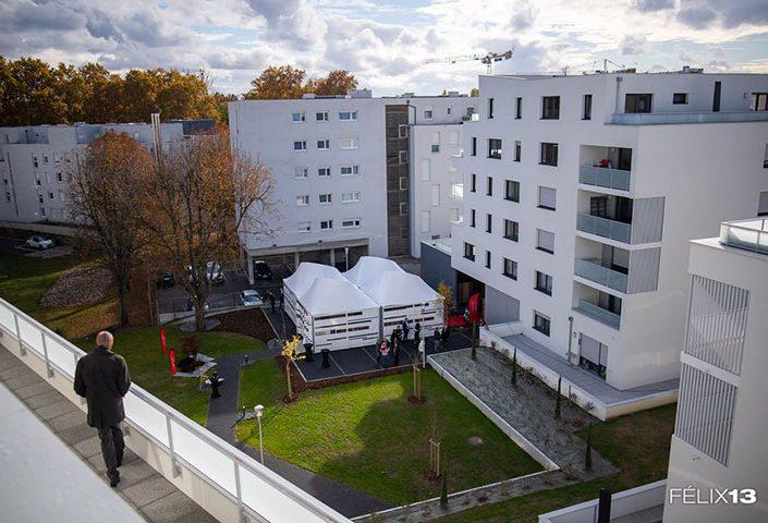 Inauguration Programme Immobilier Coté Villas – Strasbourg-Meinau
