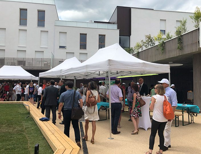 Inauguration Programme Immobilier ALCYS