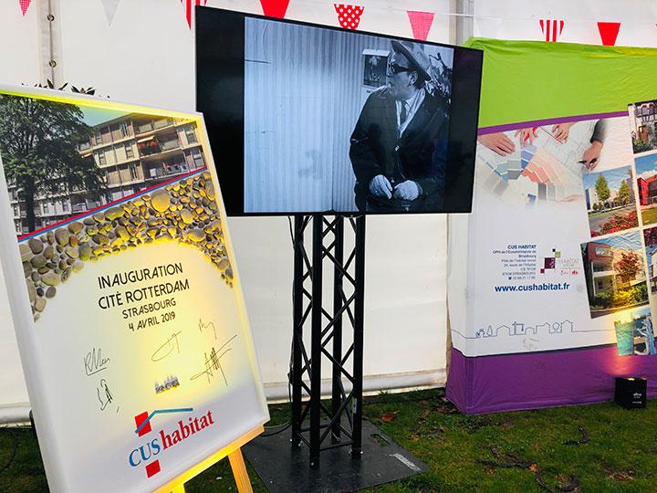 Inauguration de la rénovation de la Cité Rotterdam – CUS HABITAT