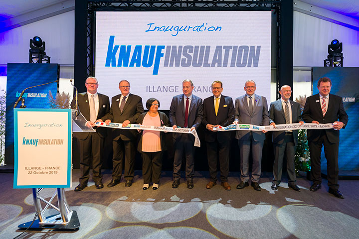 Inauguration de l'Usine KNAUF ILLANGE